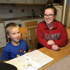 Elina, Au pair from Finland