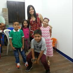Cristina, Au pair from Colombia
