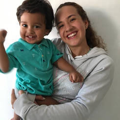 Paola, Au pair from Colombia