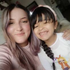 Claudia, Au pair from Colombia