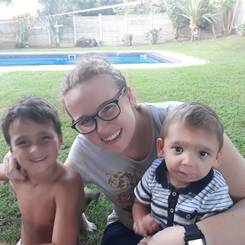 Nadine, Au pair from South africa