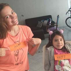 Zoe, Au pair from Argentina