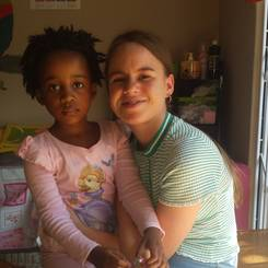 Elzet, Au pair from South africa