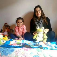 Rubby, Au pair from Colombia