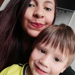 Brenda, Au pair from Colombia