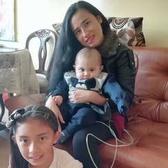 Luissa, Au pair from Colombia