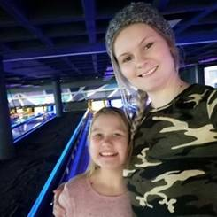 Menandi, Au pair from South africa