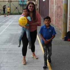 Valentina, Au pair from Colombia