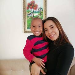 Yesica, Au pair from Dominican republic