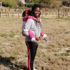 Blessing, Au pair from South africa