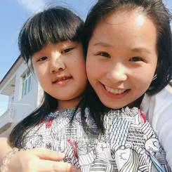 Lin, Au pair from China