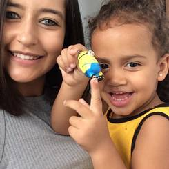 Steffani, Au pair from Brazil