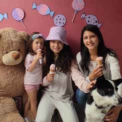 Francy, Au pair from Colombia