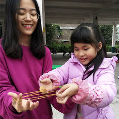 Shuting, Au pair from China