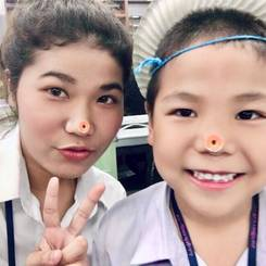 Iyares, Au pair from Thailand
