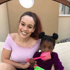 Charne, Au pair from Namibia