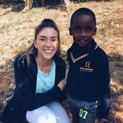 Reandi, Au pair from South africa