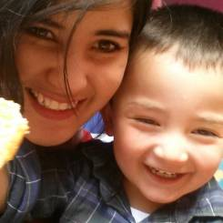 Leidy, Au pair from Colombia