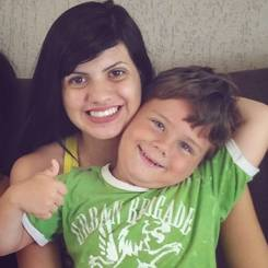 Gloria, Au pair from Brazil