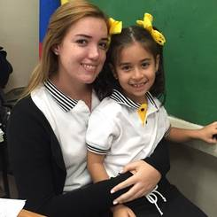Irune, Au pair from Venezuela