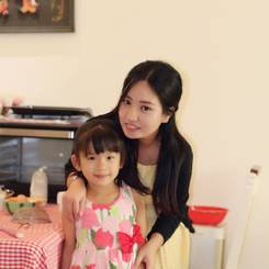 Qiuling, Au pair from China