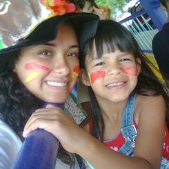 Rebeca, Au pair from Venezuela