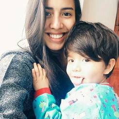 Wanda, Au pair from Colombia