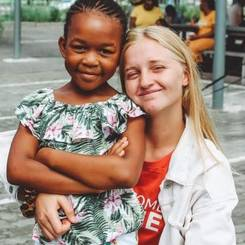 Amber, Au pair from South africa
