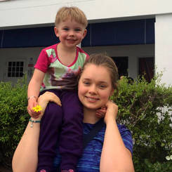 Hendrika, Au pair from South africa