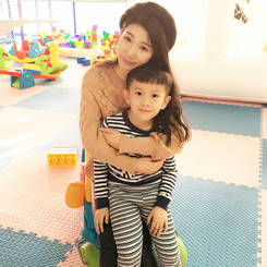 Shan, Au pair from China