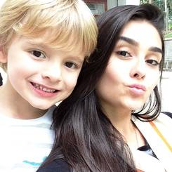 Maria, Au pair from Brazil