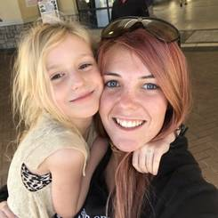 Miande, Au pair from South africa
