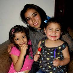 Andrea, Au pair from Colombia