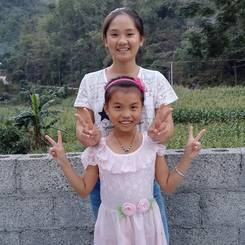 Rouduan, Au pair from China