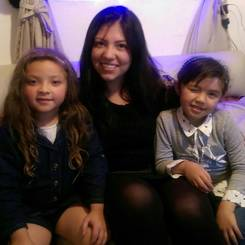 Nubia, Au pair from Colombia