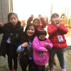 Ting, Au pair from China