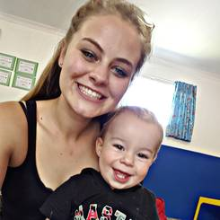 Melissa, Au pair from South africa