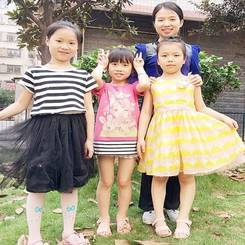 Shihua, Au pair from China
