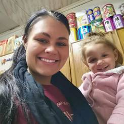 Corne, Au pair from South africa