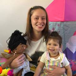 Chloe, Au pair from South africa