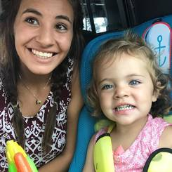 Carmen, Au pair from South africa