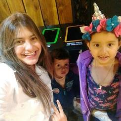 Angela, Au pair from Colombia