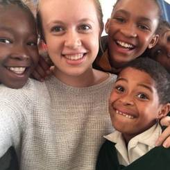 Sarah, Au pair from South africa