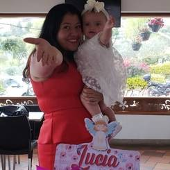 Edna, Au pair from Colombia