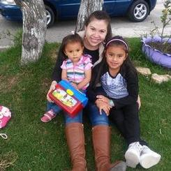 Luisa, Au pair from Colombia