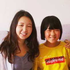Ming, Au pair from China