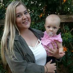 Natali, Au pair from South africa