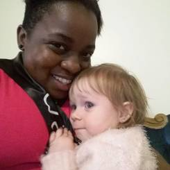 Keisha, Au pair from South africa