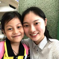 Xuelian, Au pair from China