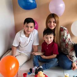 Sindy, Au pair from Colombia
